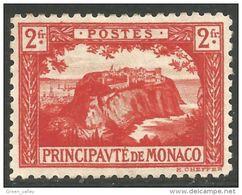 630 Monaco YT 61 Rocher 2fr MH * Neuf Sans Gomme (MON-66) - Monaco