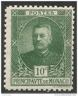 630 Monaco YT 65 Prince Louis II MH * Neuf (MON-67) - Monaco