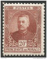 630 Monaco YT 67 Prince Louis II MH * Neuf (MON-69) - Monaco
