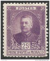 630 Monaco YT 68 Prince Louis II MH * Neuf (MON-70) - Monaco
