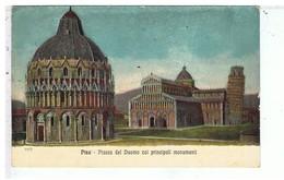 CPA-ITALIE-PISE-PIAZZA DEL DUOMO COL PRINCIPALI MONUMENTI - Pisa