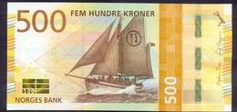 Norway 500 Kroner 2018 UNC P- 56 < Ship > - Norwegen