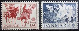 EUROPA            Année 1981         DANEMARK          N° 733/734             NEUF** - 1981
