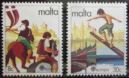 EUROPA            Année 1981         MALTE          N° 616/617             NEUF** - 1981