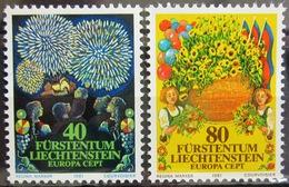 EUROPA            Année 1981         LIECHTENSTEIN          N° 705/706             NEUF** - 1981