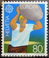 EUROPA            Année 1981         SUISSE          N° 1127             NEUF** - 1981