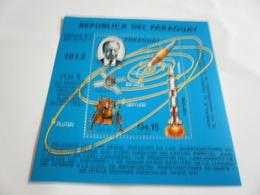 Miniature Sheet Perf Space Exploration Dr Kurt Debus - Paraguay