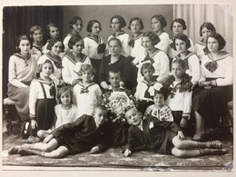 Romania Dej FOTO 1934 Dr. Czettele Dej Catolicism Copii Chatolic Kids School Costumes - Romania