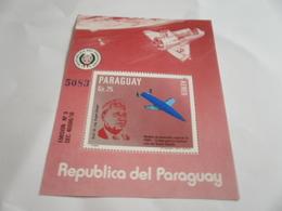 Miniature Sheet Perf Space Exploration Dr Eugen Sanger - Paraguay