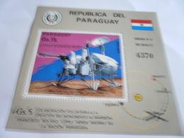 Miniature Sheet Perf Space Exploration - Paraguay