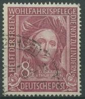 Bund 1949 Helfer Der Menschheit 117 Gestempelt, Wert: 25,00 - Gebraucht