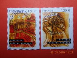 FRANCE 2019   CENTENAIRE DU THEATRE MOGADOR ( 2 Timbres)  Beaux Cachets Ronds Sur Timbres Neufs - France