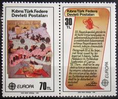 EUROPA            Année 1982         TURQUIE (adm Chypre)        Issu  B.F 3             NEUF** - Europa-CEPT