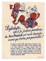 1935 YUGOSLAVIA, CROATIA, ZAGREB, HINKA FRANCKA SONS LTD, PRINTED MATTER - 1931-1941 Kingdom Of Yugoslavia