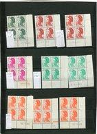 LIBERTE De GANDON -85 BLOCS 4de Ou 6 -coins Datés Neufs Sans Ch Impec -A VOIR - 1980-1989