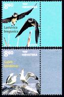 """CROATIA/Kroatien EUROPA 2019 """"National Birds"""" Set 2v** - 2019"""