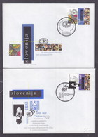 Slovenia 1995 50th Anniversary Of United Nations, FAO FDC - Slovenia