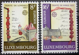EUROPA            Année 1982         LUXEMBOURG          N° 1002/1003             NEUF** - Europa-CEPT