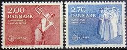 EUROPA            Année 1982         DANEMARK          N° 752/753             NEUF** - Europa-CEPT