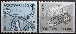 EUROPA            Année 1982         FEROE          N° 64/65             NEUF** - Europa-CEPT