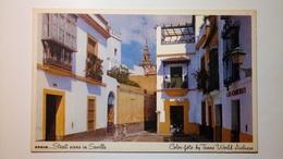 Spain, España - Sevilla - Street Scene In Seville - TWA Trans World Airlines - Sevilla (Siviglia)
