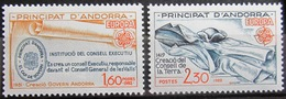 EUROPA            Année 1982         ANDORRE FR.          N° 300/301             NEUF** - Europa-CEPT