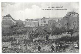 Cordes Fortifications Coté-Sud - Cordes