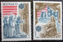 EUROPA            Année 1982         MONACO          N° 1322/1323             NEUF** - Europa-CEPT