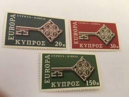 Cyprus Europa 1968 Mnh #ab - Unused Stamps