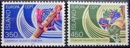 EUROPA            Année 1982         ISLANDE          N° 531/532             NEUF** - Europa-CEPT