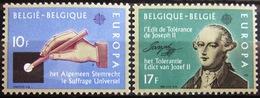 EUROPA            Année 1982         BELGIQUE          N° 2048/2049             NEUF** - Europa-CEPT