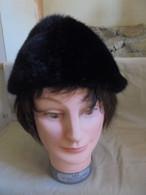 Ancien Chapeau Hiver Femme Années 50 - Coiffes, Chapeaux, Bonnets