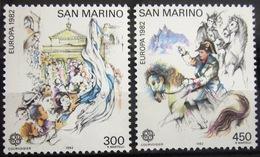 EUROPA            Année 1982         SAINT-MARIN          N° 1055/1056             NEUF** - Europa-CEPT