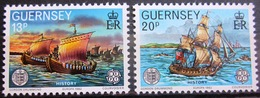 EUROPA            Année 1982         GUERNESEY          N° 248/249             NEUF** - Europa-CEPT