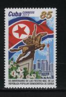 CUBA 2013  Relations With Korea - Cuba