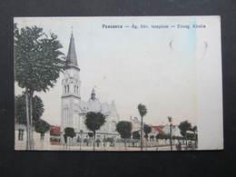 AK PANCSOVA Pancevo 1919 / D*38705 - Serbia