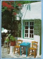 Crète (Grèce Greece) Chania - Pazinos (Galagado) Akrotiri - Café Restaurant 2 Scans - Greece