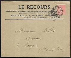 LF C41  Enveloppe De 1930 De Tours Timbre N°199 - 1921-1960: Période Moderne