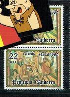 ANDORE ESP ANDORRA VARIETE JAMBES  CLERS - Spanish Andorra