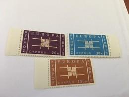 Cyprus Europa 1963 Mnh  #abc - Cyprus (Republic)