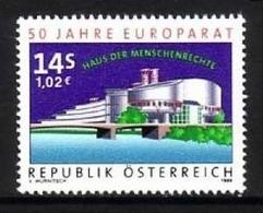 ÖSTERREICH MI-NR. 2280 ** MITÄUFER 1999 - 50 JAHRE EUROPARAT - European Ideas