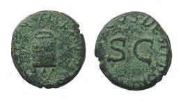 [H] +++ AE Quadrans - CLAUDIUS I. - RIC² 84 - Modius +++ - 1. Die Julio-Claudische Dynastie (-27 / 69)
