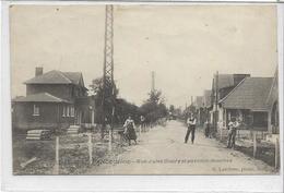 59 LILLE-DELIVRANCE . Rue Jules Goury Animée Et Pavillon-douches , édit : G Lefebvre Ascq , écrite En 1922 , état Extra - Francia