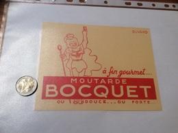 Buvard «MOUTARDE BOCQUET» - Moutardes