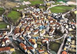 48 - MALZIEU VILLE : Vue Générale -  Jolie CPSM Dentelée Colorisée Grand Format 1964 ( Village 900 Habitants ) Lozère - Autres Communes