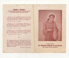 Santino Antico Servo Di Dio Fra Giuseppe Giraldi Da San Baronto - Pistoia - Religion & Esotericism