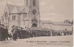 57 - COURCELLES- CHAUSSY - L'EMPEREUR ATTENDU DEVANT L'EGLISE - Autres Communes