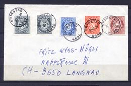 Norwegen, , 1979,  To Langnau Switzerland - Norway