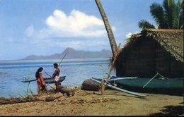 CPM - Tahiti : Bord De Mer - Polinesia Francese