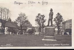 BERGEN GRIEGSTOTTEN BY PARKEN 1931 Eneret 7740 JH KuenHaldt - Norway